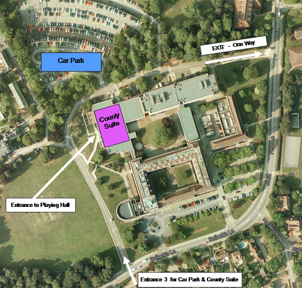 county hall site plan